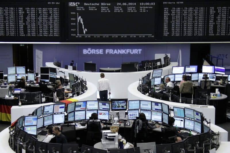 A picture showing the DAX stock market.