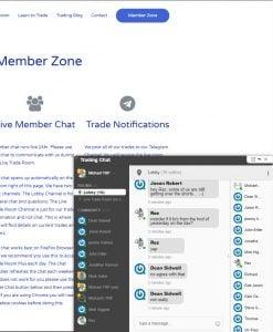 trading notification