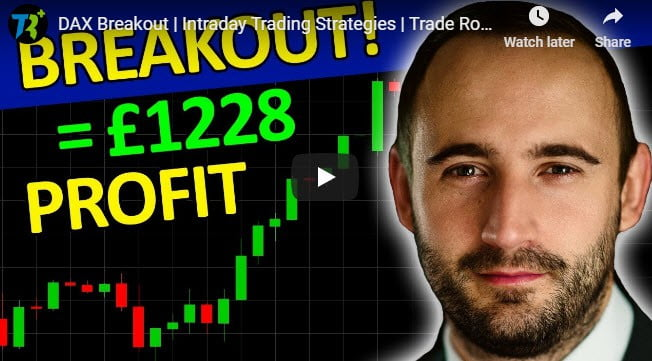 Video shows breakout trading profit