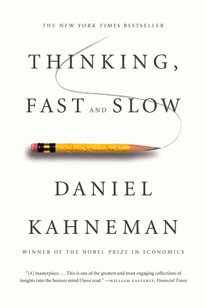 Picture of the book thinking, fast and slow.