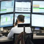 An institutional trading desk
