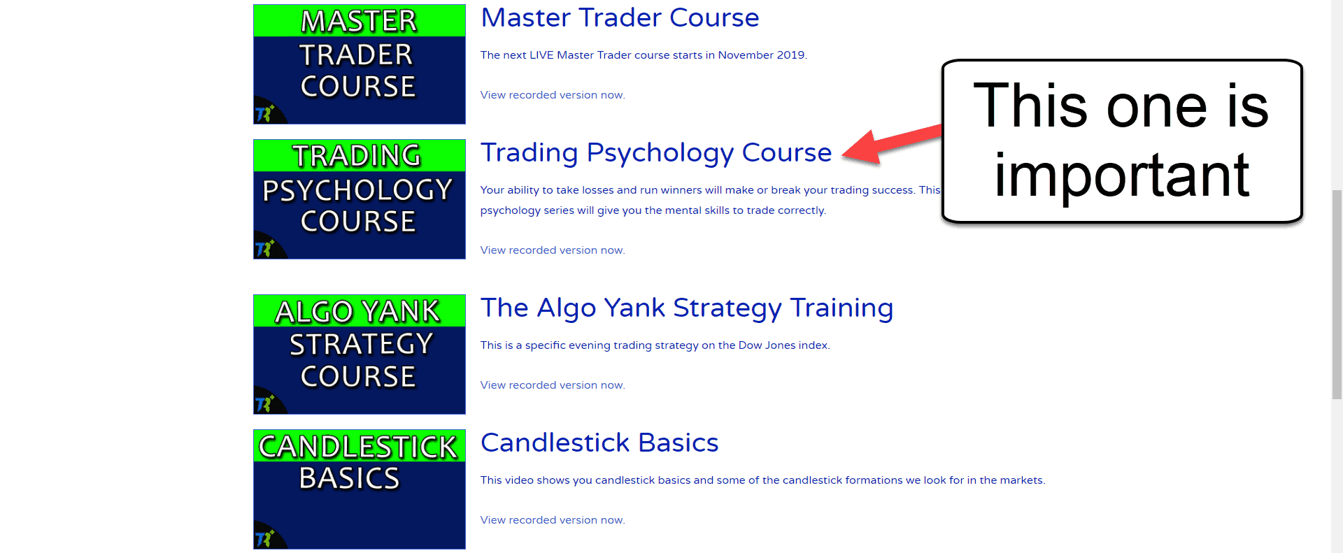 Trading-courses